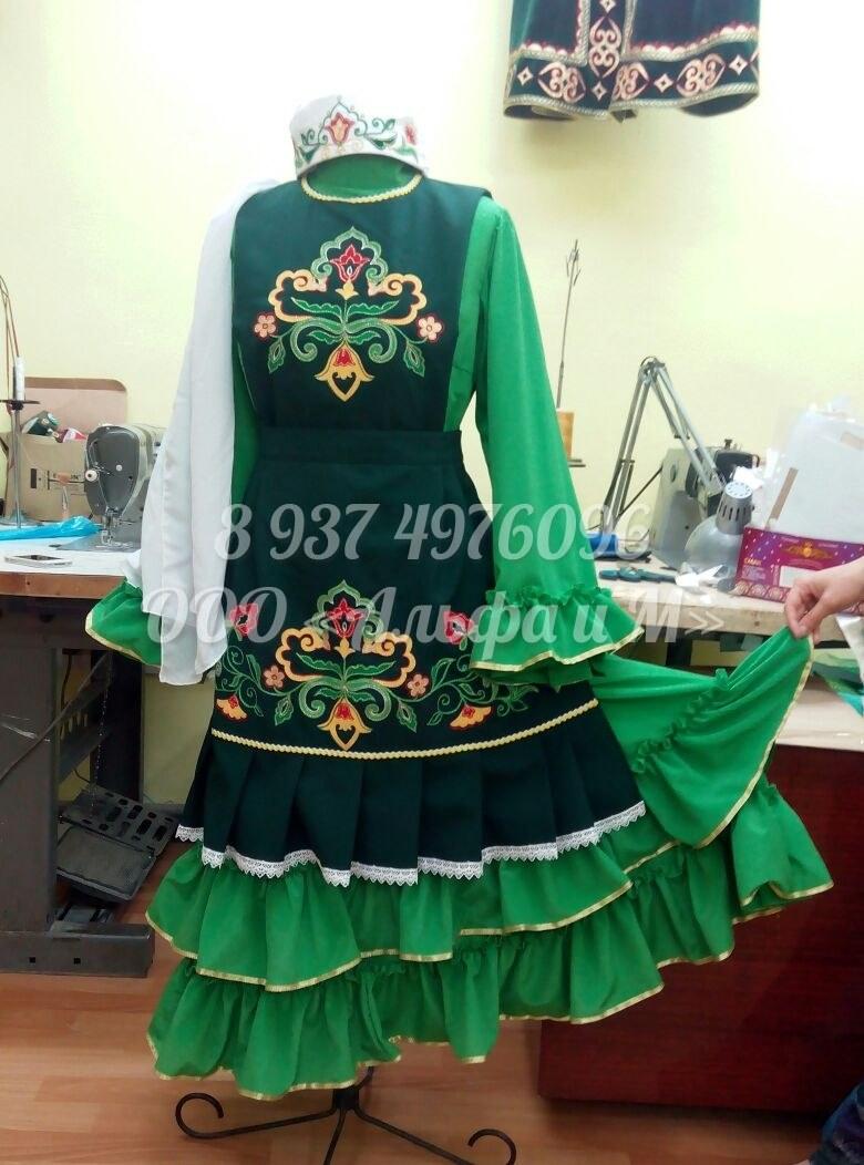 Платье татарское как сшить 15