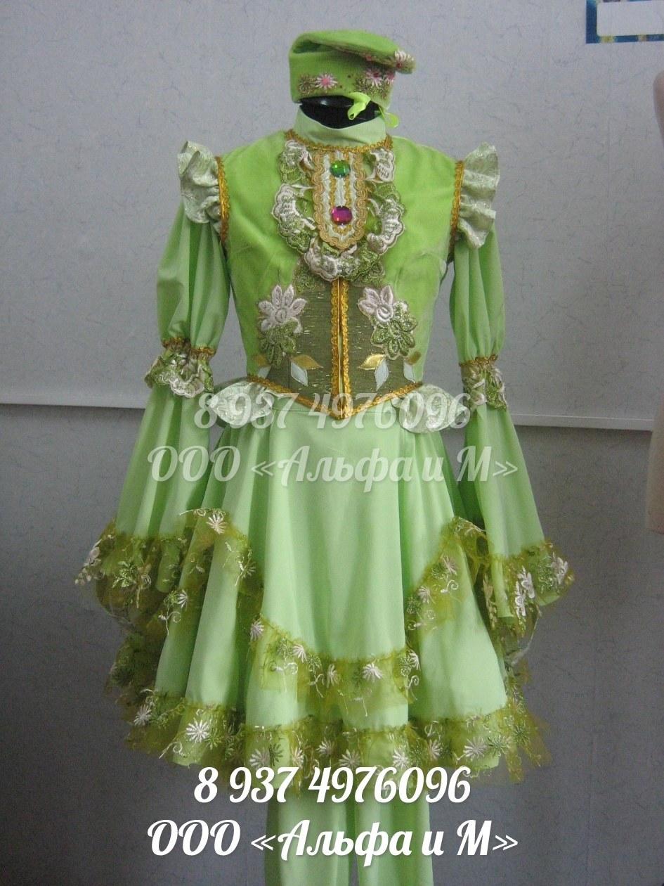 Выкройки костюмов татарских фото 926