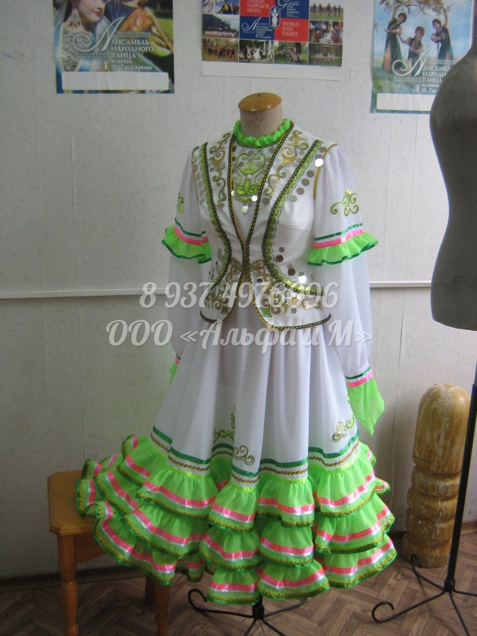 Платье татарское как сшить 63