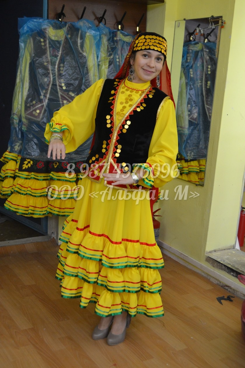 Башкирские костюмы своими руками 3