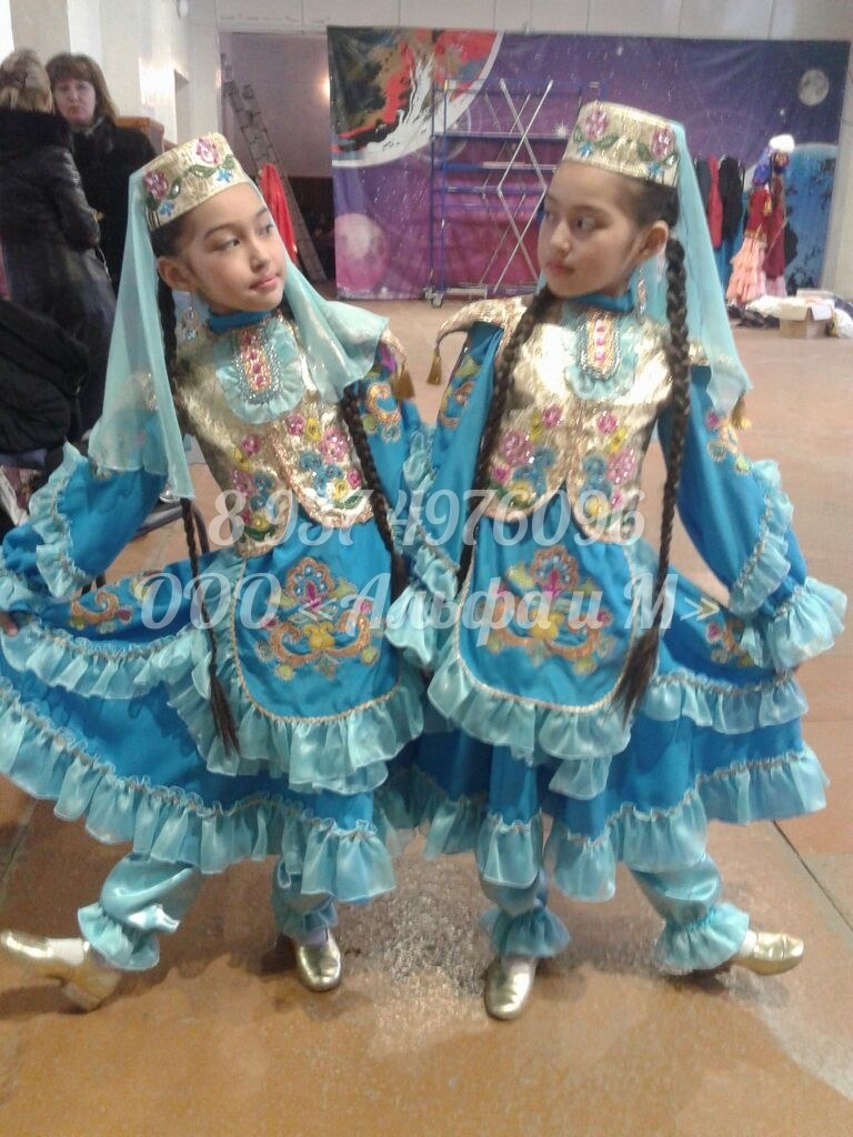 Выкройки костюмов татарских фото 777