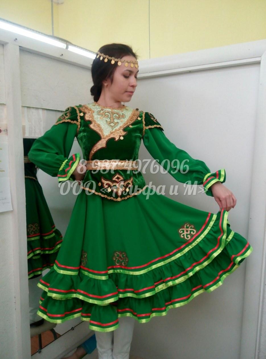 Башкирские костюмы своими руками 14