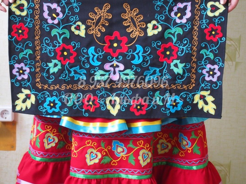 Башкирский орнамент вышивка 34