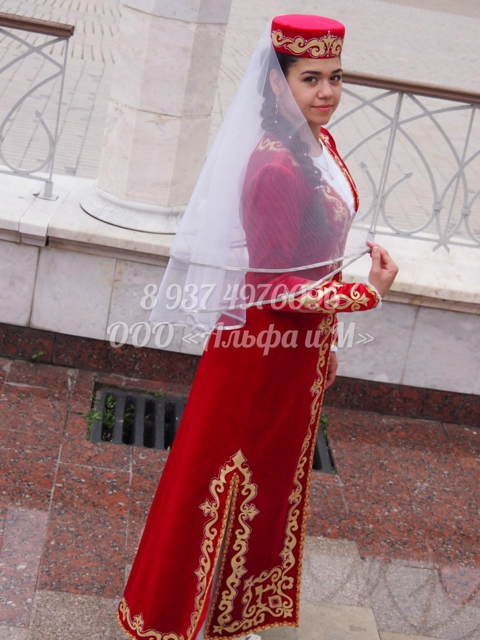 Костюмы чеченские девушки фото