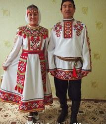 Татарский национальный костюм своими руками фото 950